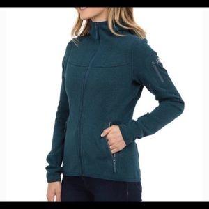 Arc'teryx marine blue zip covert hoodie size small